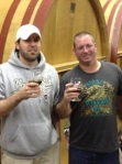 Matt and Jason at Crooked Stave the year we went to GABF