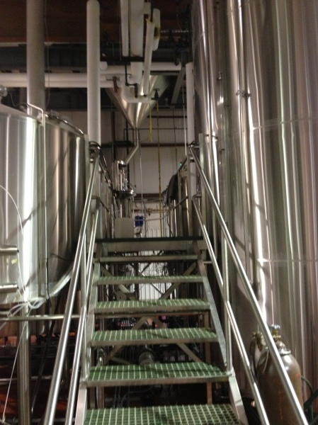 Oskar Blues' brewing system