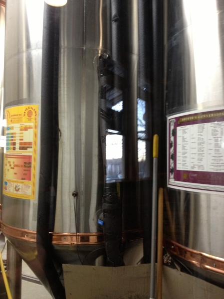 Fermenters at Wedge.