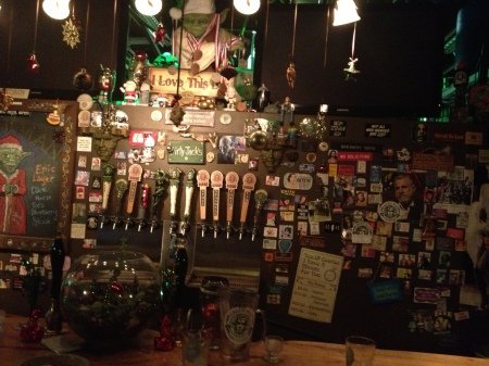Dirty Jack's aka the Green man tap room.