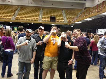 Knox Beer Crew represent!