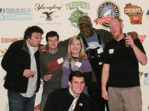 The Suttree's crew: Stanton, Matt, Anne, Dupree, Myself and Kevon.