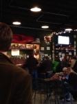 View looking towards the bar area in Altamont Brewing