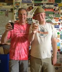 Billy Pyatt of Catabwa brewing Company and myself