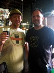 Myself with Asheville Ale Trail's Hilton Swing