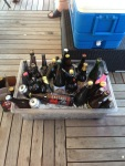 Some of the beers shared at the last Knox Beer Crew tasting