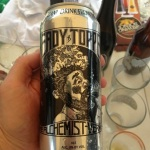 My Favorite Double IPA, Heady Topper from Vermont. Super rare.