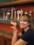 Blue Pat's Brewery rep, Kimmie.