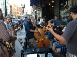 Bluegrass Jam on the patio at Suttree's each Monday night