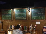 Tap board at Suttree's