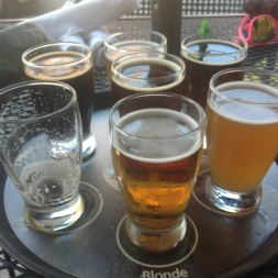 Flight at Southend Brewery