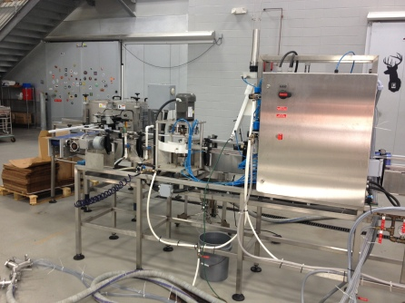 The canning line