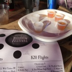 Bourbon flight time!