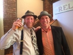 Two dapper gents ready for the beer dinner