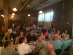 attendees of the Beer dinner