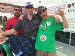 These guys know how to party. Willy D from Starr Hill, Mark from Highland and myself